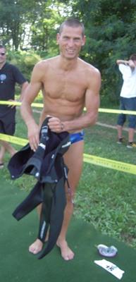 7,6 km schwimmen