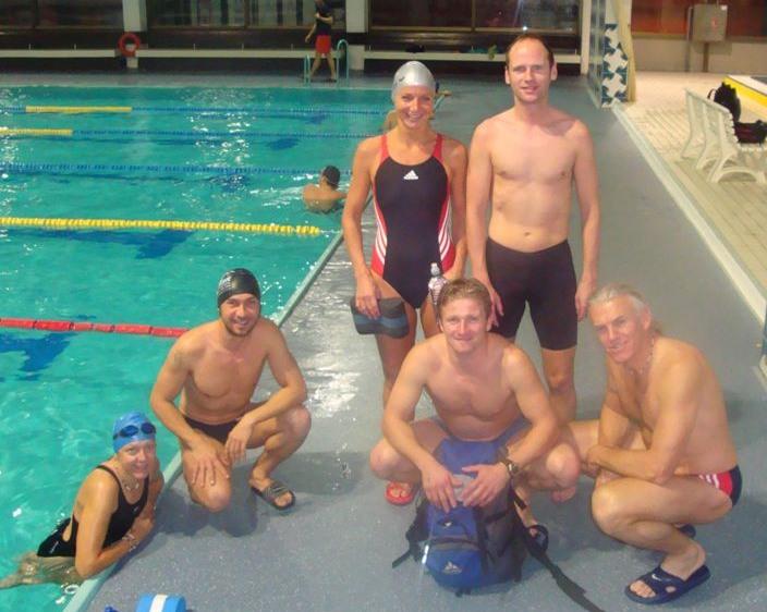 Marburg Schwimmtraining